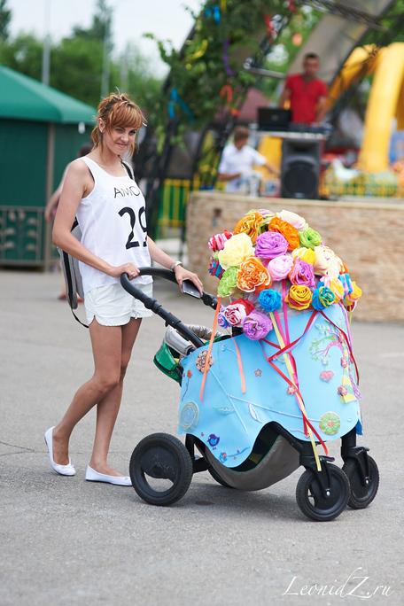 Бал колясок в Краснодаре 2014